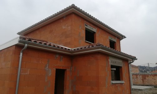 Zinguerie traditionnelle sur villa individuelle